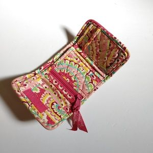 Vera Bradley Mini Quilted Wallet